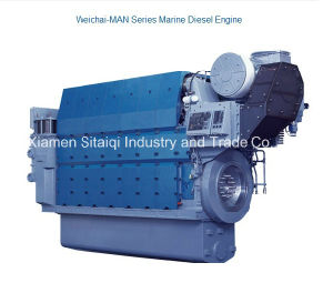 Weichai Man Series Marine Diesel Engine with Big Power pictures & photos