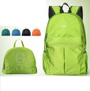 Lightweight Foldable Nylon Backpack Bag (MS1160) pictures & photos