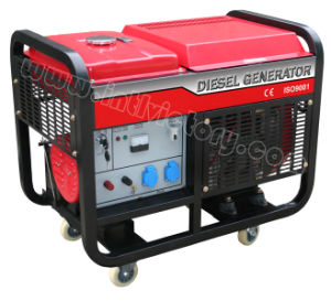 10kw Small Portable Diesel Generator with CE/CIQ/ISO/Soncap pictures & photos