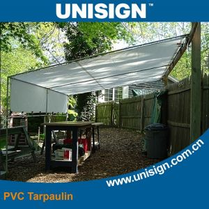 Waterproof, Anti-UV PVC Coated Tarpaulin for Sunshade pictures & photos