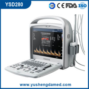 FDA Portable Diagnosis System 4D Color Doppler Ultrasound Scanner pictures & photos