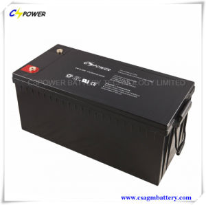 CE Approved Deep Cycle Lead Acid Solar Battery 12V200ah pictures & photos