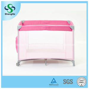 OEM Factory Supply Simple Portable Baby Travel Crib (SH-A5)