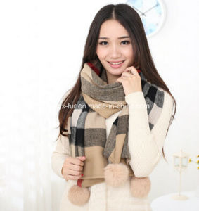 New Design British Style Wool Scarf Purl Wool Scarf, Pashmina Cashmere Scarf pictures & photos