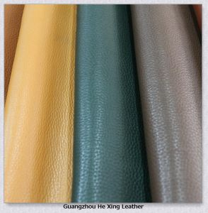 Synthetic PVC Faux Leather for Bag, Sofa Car Seat Cover pictures & photos