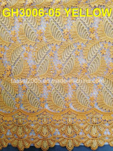 Latest High Quality Fashion African Corded Lace Fabric pictures & photos