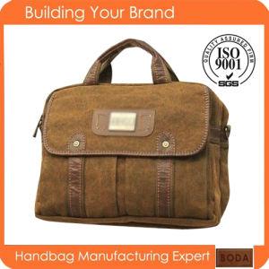 New Design Fashion Canvas Men Business Computer Bag pictures & photos