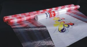 Disposable HDPE Printing Table Mat Table Cloth on Roll