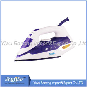 Electric Steam Iron Electric Iron Sf-9004 with Ceramic Soleplate (Blue)