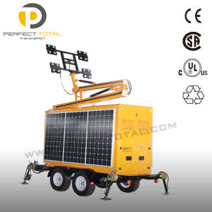 800W LED Solar Lighting Tower pictures & photos