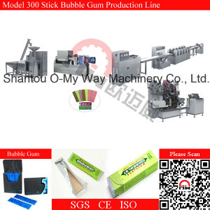 Fully Automatic Packing Machine Bubble Gum Production Line pictures & photos