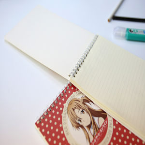 New Design Cartoon Soft Cover Wire-O Notebook pictures & photos