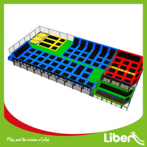 Euro Standard Commercial Indoor Trampolines Park for Sale pictures & photos