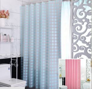 2016 Shanghai DPF 100% Polyester Hotel Shower Curtain pictures & photos
