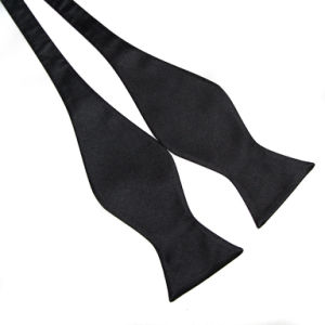 Fashion Plain Calabash Design Polyester Silk Ties pictures & photos