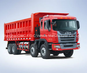 Best Price with 8*4 JAC Dump Truck pictures & photos
