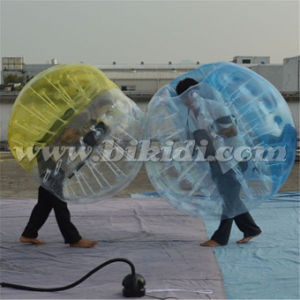 High Quality Half Color TPU Bubble Soccer Bubble Ball, Adult Bubble Ball for Football D5102 pictures & photos