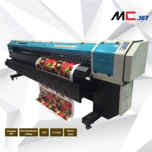 Mcjet 3.20m Large Format Eco Solvent Printer pictures & photos