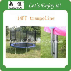 Professional Gymnastic High Jumping 15ft Outdoor Trampoline pictures & photos