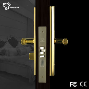 New Product Electronic Mortise Cylinder Door Handle Lock for Glass Door pictures & photos