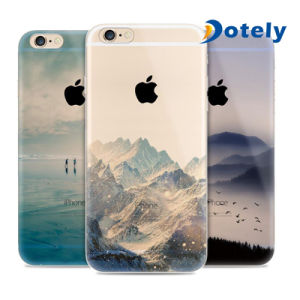 Soft Slim Rubber TPU Case with Scenery Pattern Series pictures & photos