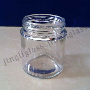 Round Shaped Glass Jar for Pasta, Sauce Packing pictures & photos