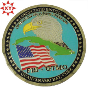 Free Sample Metal Coin with Eagle pictures & photos