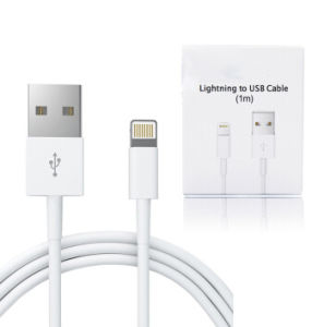 100% Original iPhone Cable for iPhone5/iPhone5S/ iPhone6 / iPhone 6s/iPhone6s Plus Charger Cable Ios9.3 iPhone6s Plus Data Cable pictures & photos