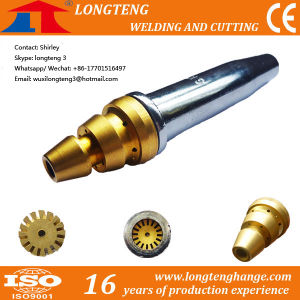 Sliver LPG Cutting Nozzle Tips for CNC Cutting Machine pictures & photos