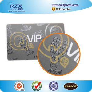 Full Color Printable PVC Plastic VIP Cards with UV Spot