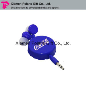 Portable OEM Retractable Mobile Phone in-Ear Earphone pictures & photos