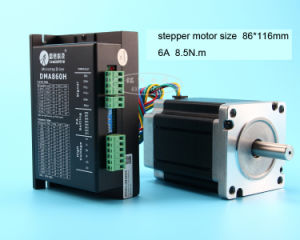 Stepper Motor and Driver for CNC Router 86byg118+Ma860h pictures & photos