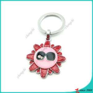 Fashion Sunflower Enamel Key Chain (KC)