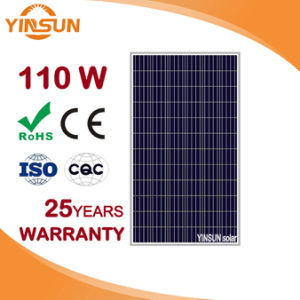 110W Photovoltaic Solar Panel Solar Module for PV System pictures & photos