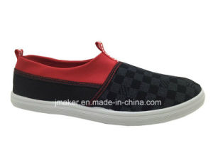 Men Fashion Casual Canvas Flat Shoe Lazy Shoe (3921-M)