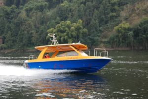 7.8 Meter Fiberglass Passenger Boat for 14 Persons pictures & photos