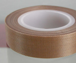 0.4mm Thickness PTFE Teflon Tape, Fiberglas Tape, Adhesive Tape pictures & photos