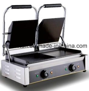 Newly Luxury Double Electric Contact Grill /Panini Grill with Ce Approve (ET-YP-2A4) pictures & photos