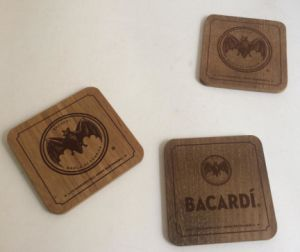 Wood Cup Coaster Drink Cup Coaster Coffer Coaster pictures & photos