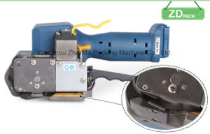 Cordless Electric Plastic Band Strapping Machine (Z323) pictures & photos