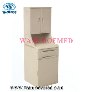Bc008-3 Hospital Mobile ABS Bedside Cabinet pictures & photos