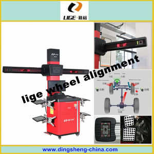 Multi-Language Garage 3D Wheel Alignment Lige Aligner pictures & photos
