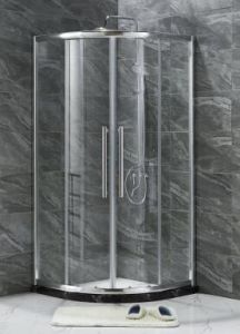 Simple Shower Enclosure (E-01 with big handle) pictures & photos