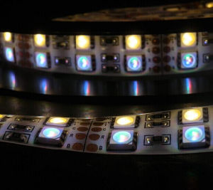 RGBW LED Strip Lights 120LEDs/M in Double Row pictures & photos