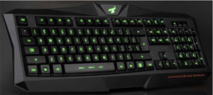 Hot Selling LED Light Wired Gaming Keyboard pictures & photos