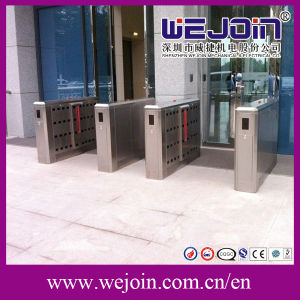 Security Double Wings 304 Stainless Steel Security Handicap Passage Flap Gate Barrier pictures & photos