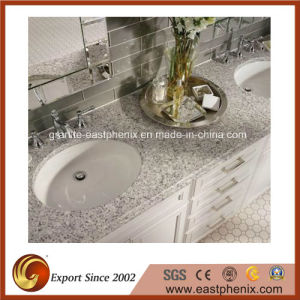 White Quartz Stone Vanity Top for Bathroom pictures & photos