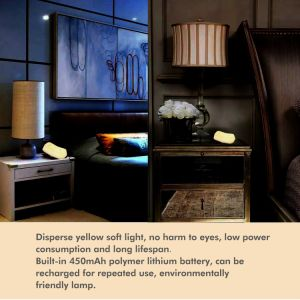 USB Rechargeable LED on/off Desk Lamp Gravity Sensor Night Light pictures & photos