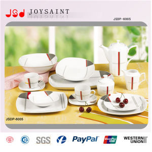Hot Selling Decal Porcelain Dinner Set pictures & photos
