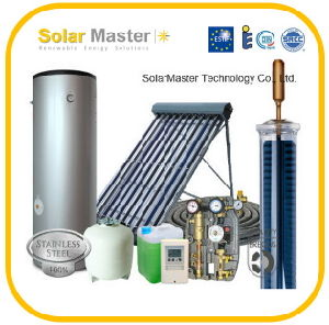EU Market Split Pressurized Solar Water Heater System
